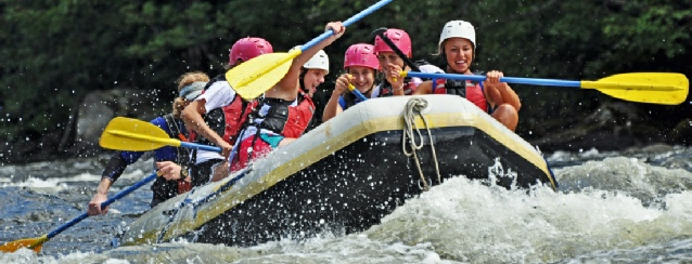New Hampshire White Water Rafting - See America - Visit USA Travel Guide
