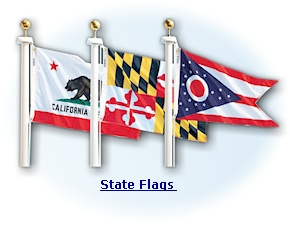 Made in America USA - US State Flags on sale from the America Store on AmericaTheBeautiful.com
